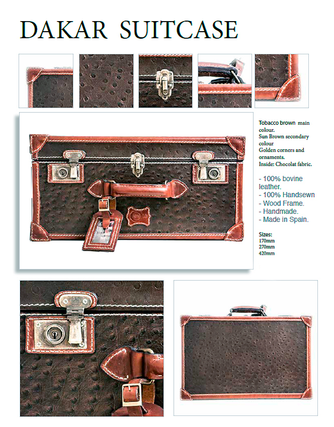 Maleta Dakar-Suitcase
