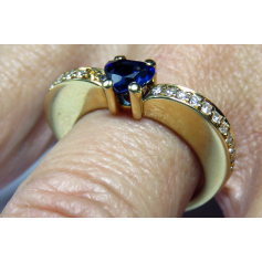 Ring in gelbgold 18k.