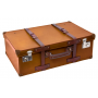 Suitcase: 66 ROUTE Brown Sun