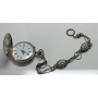 "Pocket watch modernist saboneta with ""châtelaine"", ca. 1900."