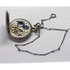 """Pocket watch nouveau Longines with """"châtelaine"""", ca. 1900."""
