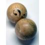 Un parell de boles de billar Xapat. El segle xix.