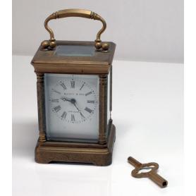 """Alarm clock """"carriage"""" Elliott & Son."""