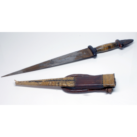 Dagger Tuareg forearm 1 of the TWENTIETH century.