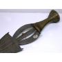 Espada, Ngombe, Congo, De África. A principios do século XIX.