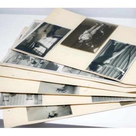 Lot of 34 postcards, and various porn. Vintage Art Decò, ca. 1925.