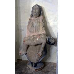 La Figure de la vierge en pierre