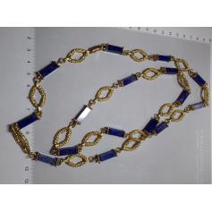 Collare collana girocollo in oro giallo 18 k.