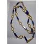 Collier tour de cou collier en or jaune de 18 carats.