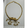 Collar choker necklace in yellow gold of 22 k.
