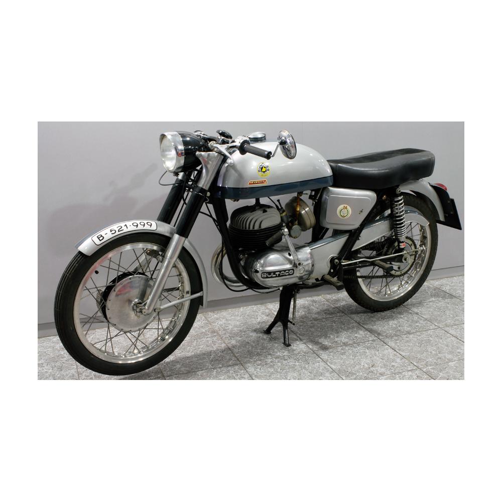 BULTACO 200cc  Shrapnel 62  - Artsvalua