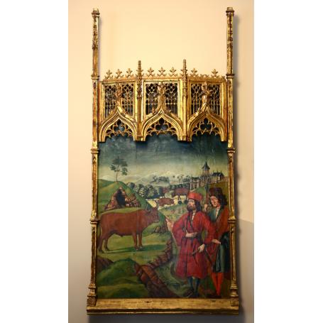 Altarpiece of the s: XV –XVI (BARTOLOMÉ DE CASTRO)