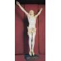 Escultura de Crist d'ivori. S: XVIII