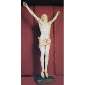 A escultura do Cristo en marfil. S: XVIII