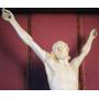 Skulptur von Christus in elfenbein. S: XVIII