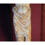Escultura de Crist d'ivori. S: XIV