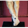 Sculpture of Christ in ivory. S: XIV