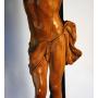 Escultura de Crist en la talla d'ivori flamencs. S: XVII