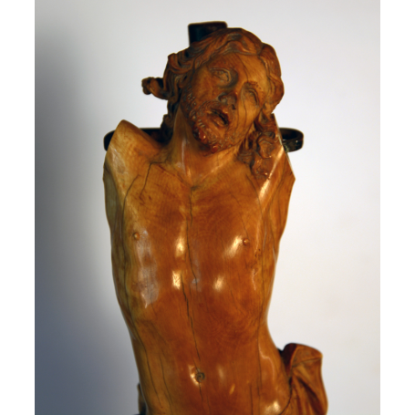 Sculpture of Christ in the ivory carving flemish. S: XVII