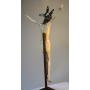 Escultura de Cristo en marfil. S: XVII
