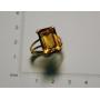 Anel de xoias en ouro amarelo da lei