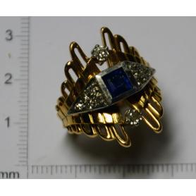 Ring in gelbgold - gesetz