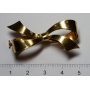 Agulla de pit-en forma d'agulla llaçada en or
