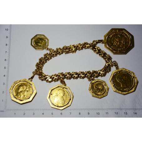 eec033dede6a Pulsera de eslabones en oro - Artsvalua