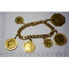 Pulseira de ligazóns en ouro