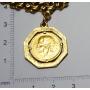 Bracelet links in gold