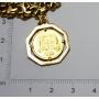 Armband - gliedern in gold