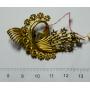 Agulla de pit-agulla en or groc
