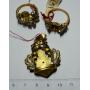 Gran quantitat de tres peces d'or