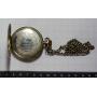 Orologio da tasca lepine con leontina in argento