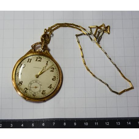 Rellotge de butxaca GERMINAL lepine en or