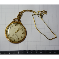 Pocket watch GERMINAL lepine in gold