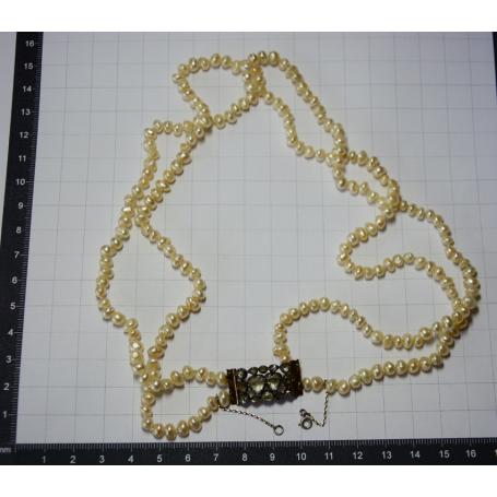 Collaret de matinée amb perles barroc