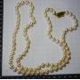 Collana matinée con perle dei mari del sud