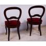 Parell de cadires de fusta elizabethan