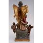 La Figure de l'Archange sur le bois sculpté