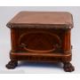 Pedestal wood desk