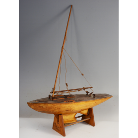 Model boat-sailboat