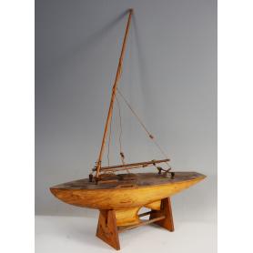 Model de vaixell, veler