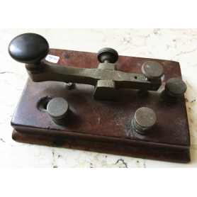 Old telegraph key morse original