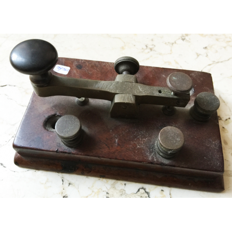 Old telegraph key morse original