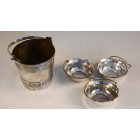 Lot of several pieces in sterling silver