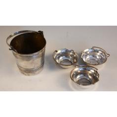 Serie de varias pezas en prata