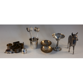 Lot of various silver pieces