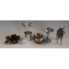 Lotto di vari pezzi d'argento