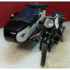 Motocicleta RATIER 600cc Modelo c6. Año 1970.